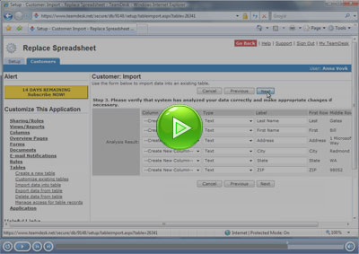 Replace Spreadsheet: Turn Excel into Web Database